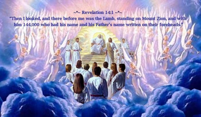 144000-Witnesses-in-Heaven