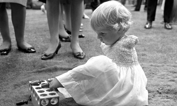 Child victim of thalidomide