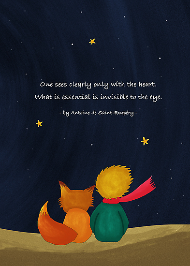 Little Prince & Fox