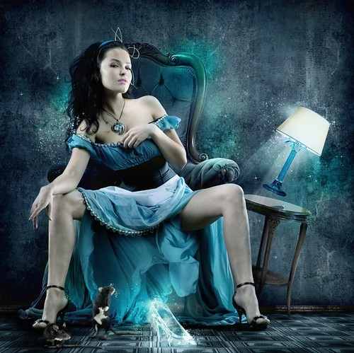 Melissa Teague - Love of a Mystical Woman 2 love-art-beautiful-blue-cinderella-cindrella-Favim.com-38160