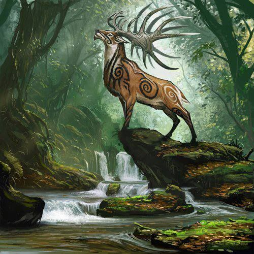 Celtic Stag
