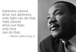 MLK Hate Love