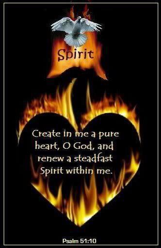 New Heart Steadfast Spirit
