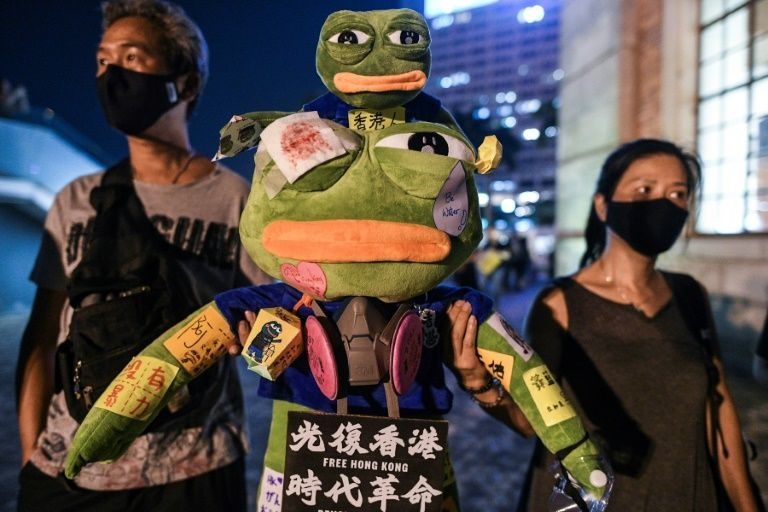 Pepe The Protest Frog