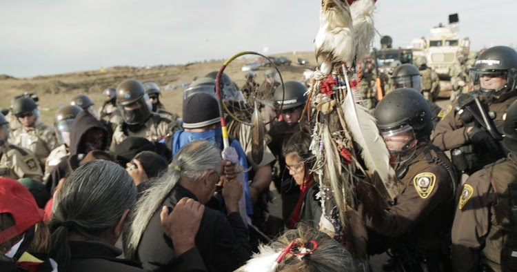 President Barack Obama activated a private mercenary army to attack US Citizens who were praying and peacefully standing for their right to clean water on the Standing Rock Reservation.
