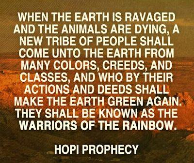 Joseph White Eagle Hopi Prophecy 2