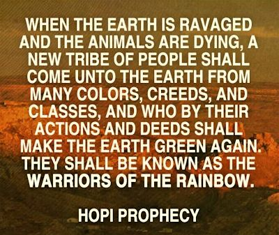 Joseph White Eagle Hopi Prophecy 2