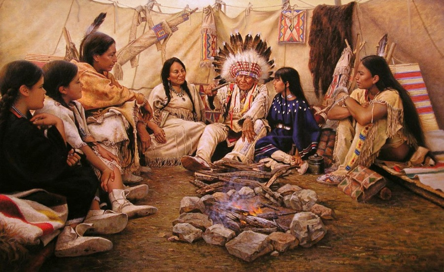 Cloud Spencer Eagle Bear Healing Circle
