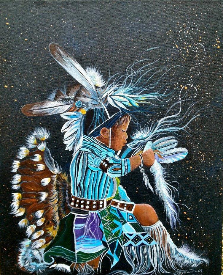 Cloud Spencer Eagle Bear Sacred Breath