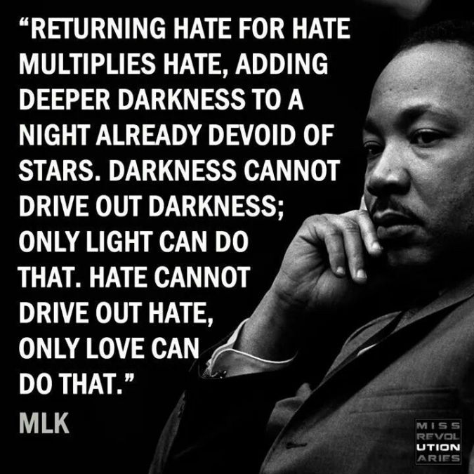 MLK - Hate Love Dark Light