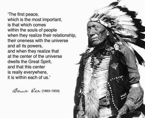 Black Elk First Peace
