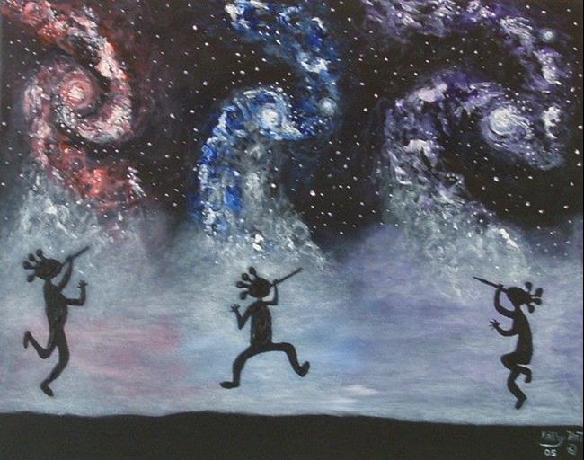 Celestical-Star-Dance by Kathy Hatt