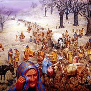 The Trail of Tears was a mass genocide attack against the Cherokee and other Tribes