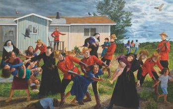Canadian Residential School Kidnappings.