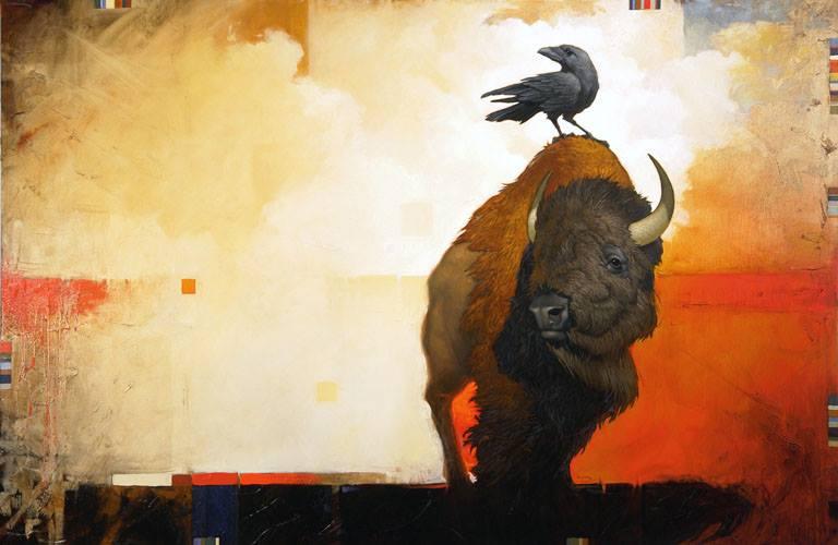 Crow and Buffalo