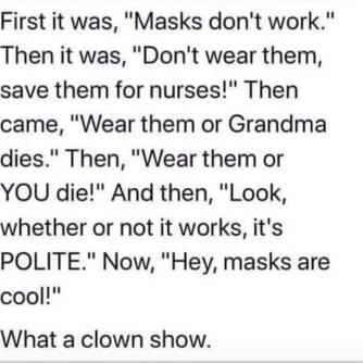 Mask Insanity