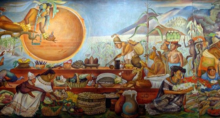 Mayan cocoa ceremony