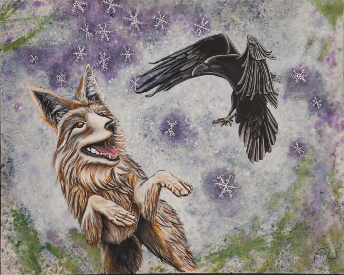 Raven and Coyote Medicine 2