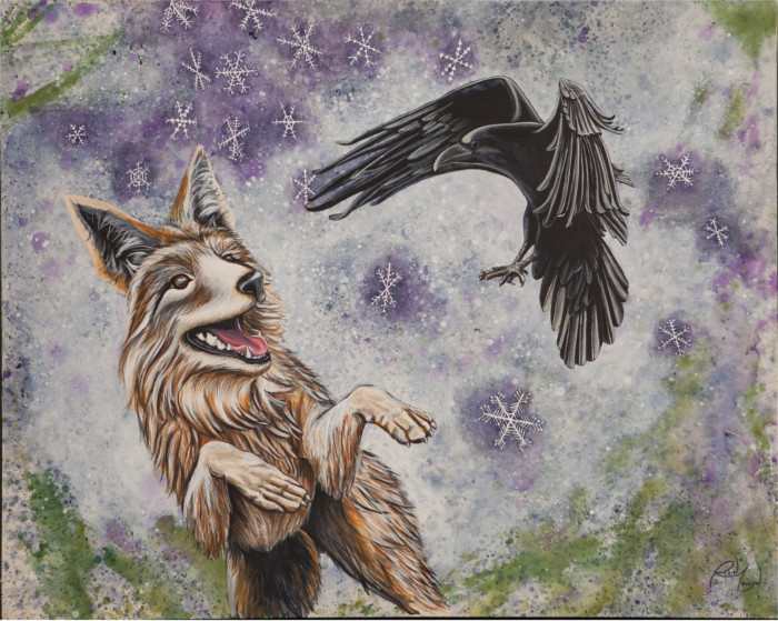 Raven and Coyote Medicine 2