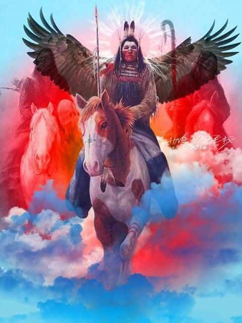 Sacred Red Road Cloud Spencer Eaglebear