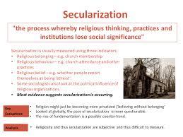 Seclarization