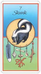 Skunk Medicine Card