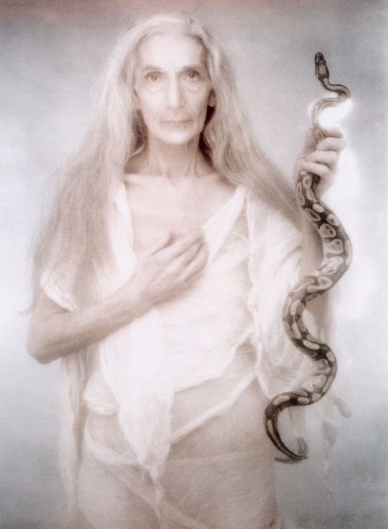 Snake Crone Goddess