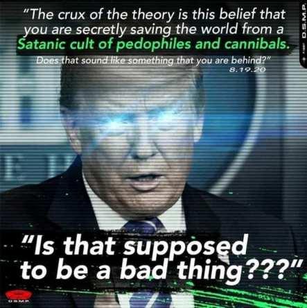 Trump on Q