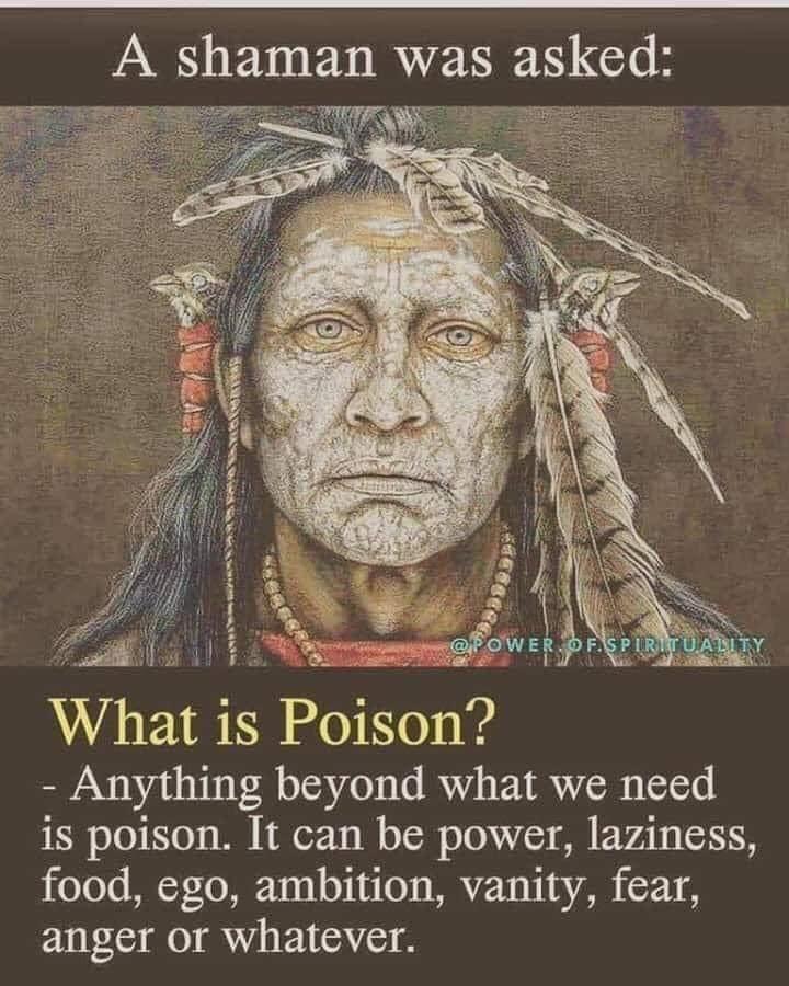 Medicine vs Poison Medicine Man