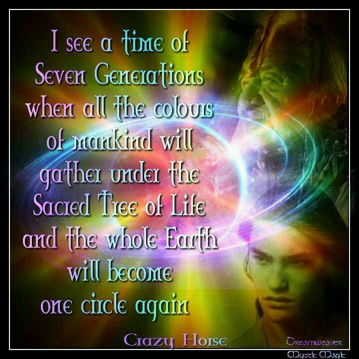 Rainbow Prophecy of Chief Crazy Horse