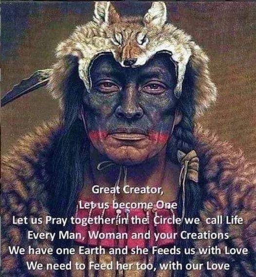 Medicine Man Prayer